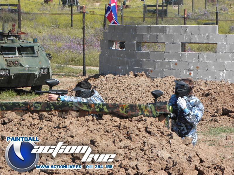 action live paintball madrid en